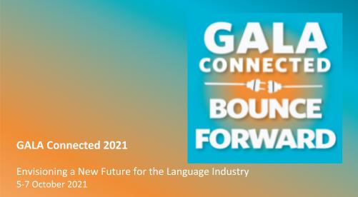 GALA Connected 2021: Bounce Forward